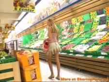 Познакомился в супермаркете и повез на перепихон