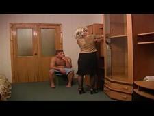 Русская мама трахает сына