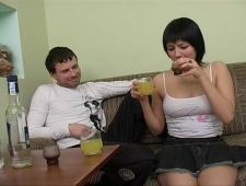 Выпили и понеслись ебли