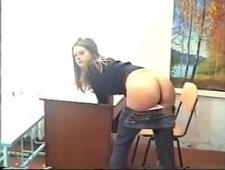 Студентка трахается с профессором