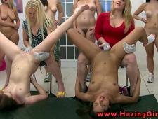 Девочки после сессии развлекаються