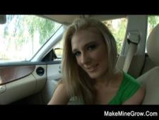 Блондинка любительница секса
