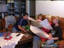 Семейная оргия с мамкой