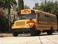 Девки ебутся с водителем в автобусе
