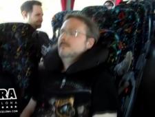 Видео путешественников в автобусе