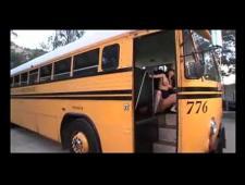 Выебал студентку в автобусе