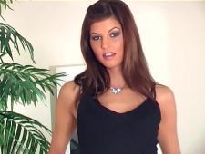 Сексуальная девушка в чулочках